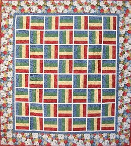 ! Sew we quilt: The Humble Rail Fence Quilt