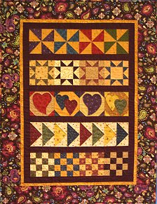 Free Quilt Patterns For Dummies : ROW BY ROW QUILT PATTERNS FREE Quilt Pattern
